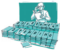 Government Spending – Carrying On Regardless